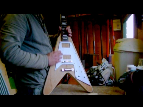 how to build a guitar body