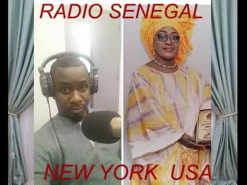 RADIO SENEGAL NEW YORK  USA : Honorable Deputee Nogaye Mboup et Alioune DiopPARRAINAGE