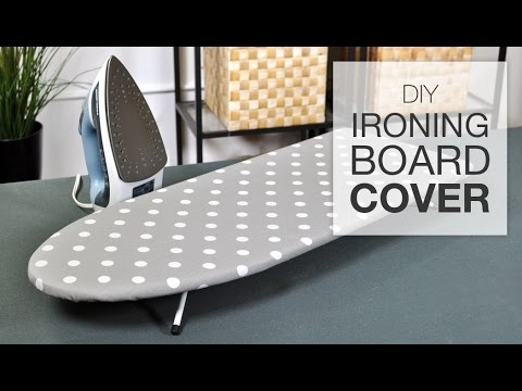 How To Make An Easy Ironing Board Cover Youtube