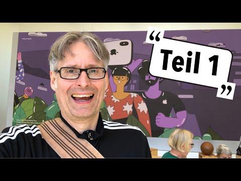 Making Of Keynote-Show | Apfeltalk-Videolog Teil 1