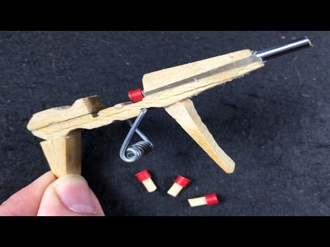 How to Make a MINI AK-47 that shoots