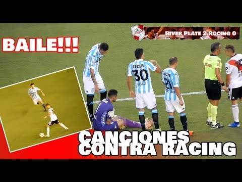 CANCIONES CONTRA RACING + BAILE DE RIVER A RACING / Superliga 2019