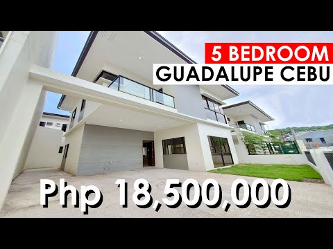 5 BEDROOM HOUSE AND LOT FOR SALE IN GUADALUPE CEBU CITY / SINGLE DETACHED