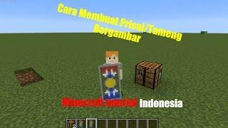 Cara Membuat Perisai/Shield Bergambar Di Minecraft - Minecraft Tutorial Indonesia