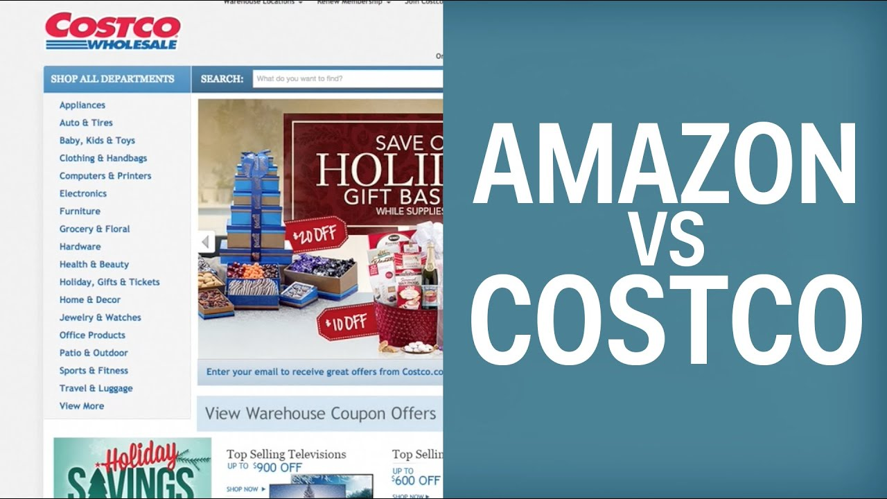 Costco Versus Amazon We Figured Out Who Has Cheaper Prices line