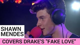 Shawn Mendes Covers Drake's 'Fake Love' (ACOUSTIC)