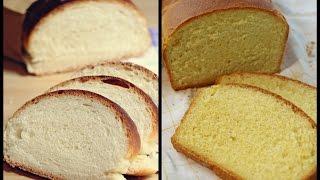 Brotbacken für Anfänger - Grundrezept für weiches, luftiges Weißbrot (inkl. Version mit Maismehl)
