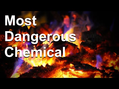 """Setting Fire to Glass - The """"Nope"""" Chemical That is Chlorine Trifluoride"""