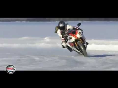 Hai màn đua xe rợn người trên băng tuyết-Yume TTNV