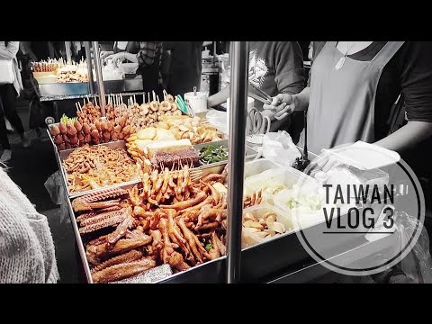 TAIWAN VLOG 3: THE FAMOUS SHILIN NIGHT MARKET!