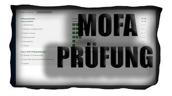 Mofa Theorie - Prüfung | SO GEHT ES!!!! | Sercan