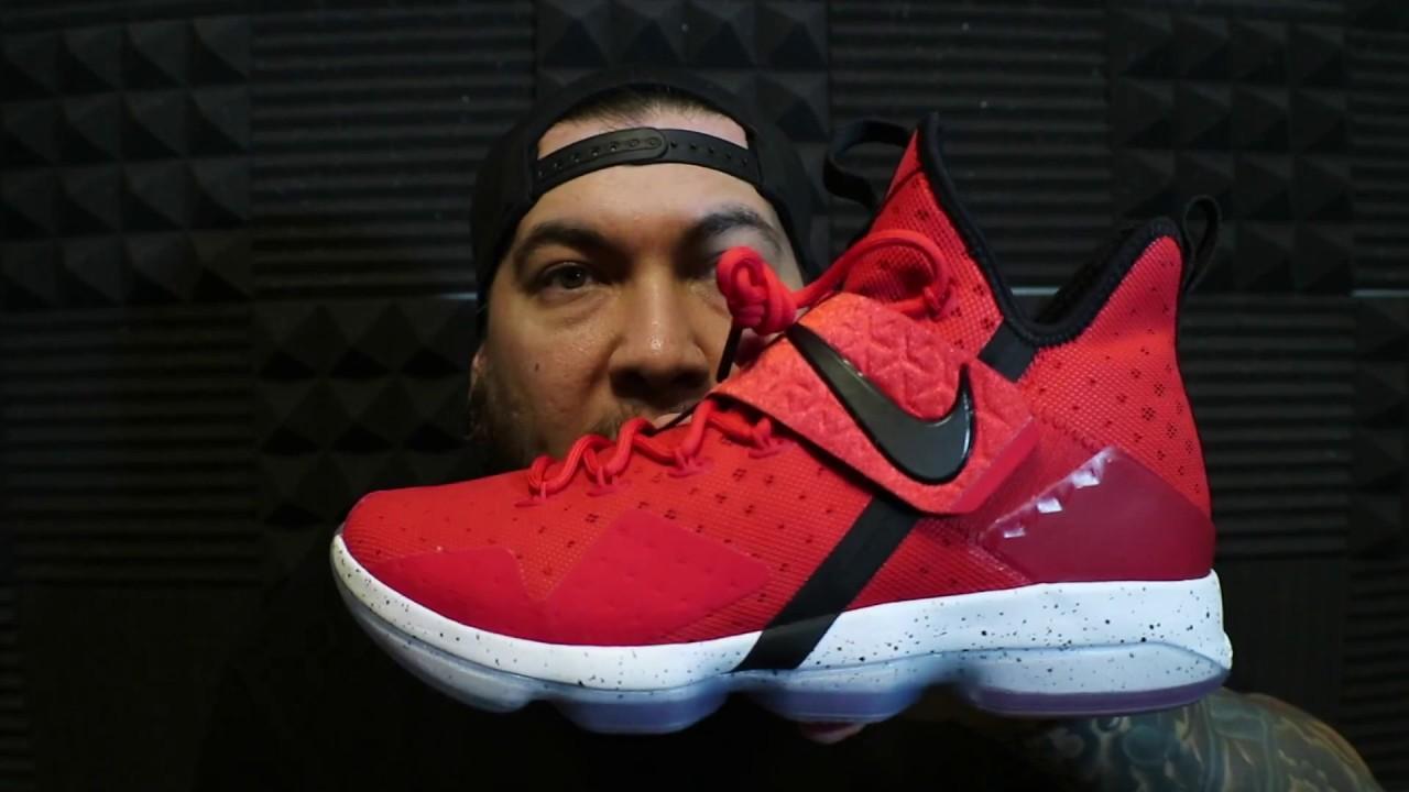 330612f42243 2017 Nike Lebron 14 Red Brick Road (Lebron XIV) - YouTube