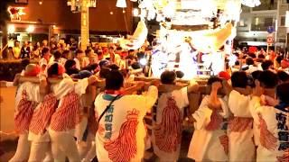 高崎神社布団太鼓 (本宮) 2017.7.23