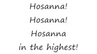 Hosanna - Vineyard [lyrics]