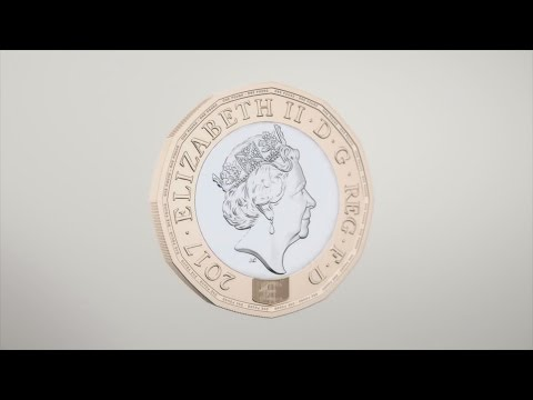 New 12-sided £1 coin enters circulation