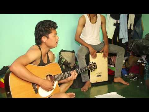 Adarsha Band ( Birsera Malai Cover) during Rehearsal
