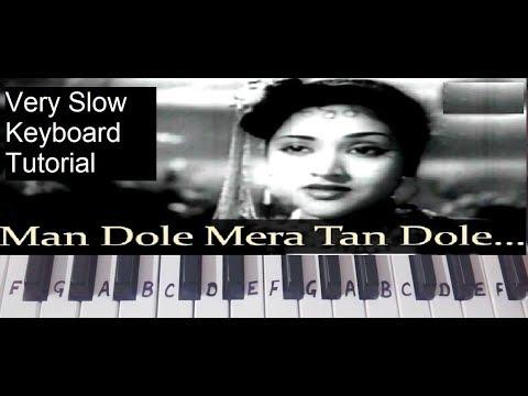 Naagin Song | Man Dole Mera Tan Dole| Keyboard Tutorial|Piano|Harmonium|Step By Step