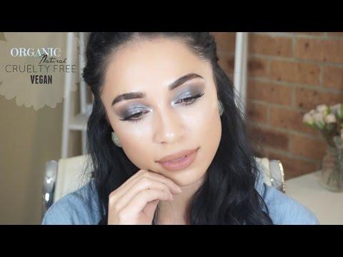 ORGANIC | NATURAL | VEGAN | CRUELTY FREE full coverage makeup tutorial