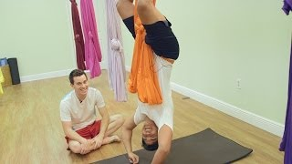 Health Matters: Aerial Yoga
