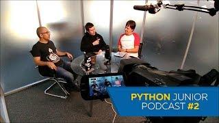 Python Junior подкаст. Выпуск #2 | Про сообщества, резюме разработчика и рейтинги ЯП