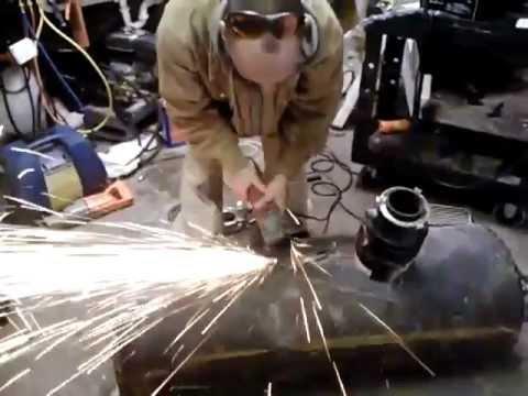 harbor freight 90 amp flux welder strength test youtube. Black Bedroom Furniture Sets. Home Design Ideas