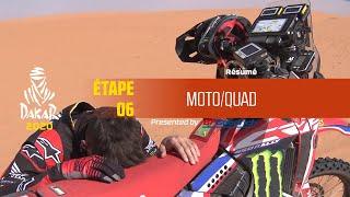 Dakar 2020 - Étape 6 (Ha'il / Riyadh) - Résumé Moto/Quad