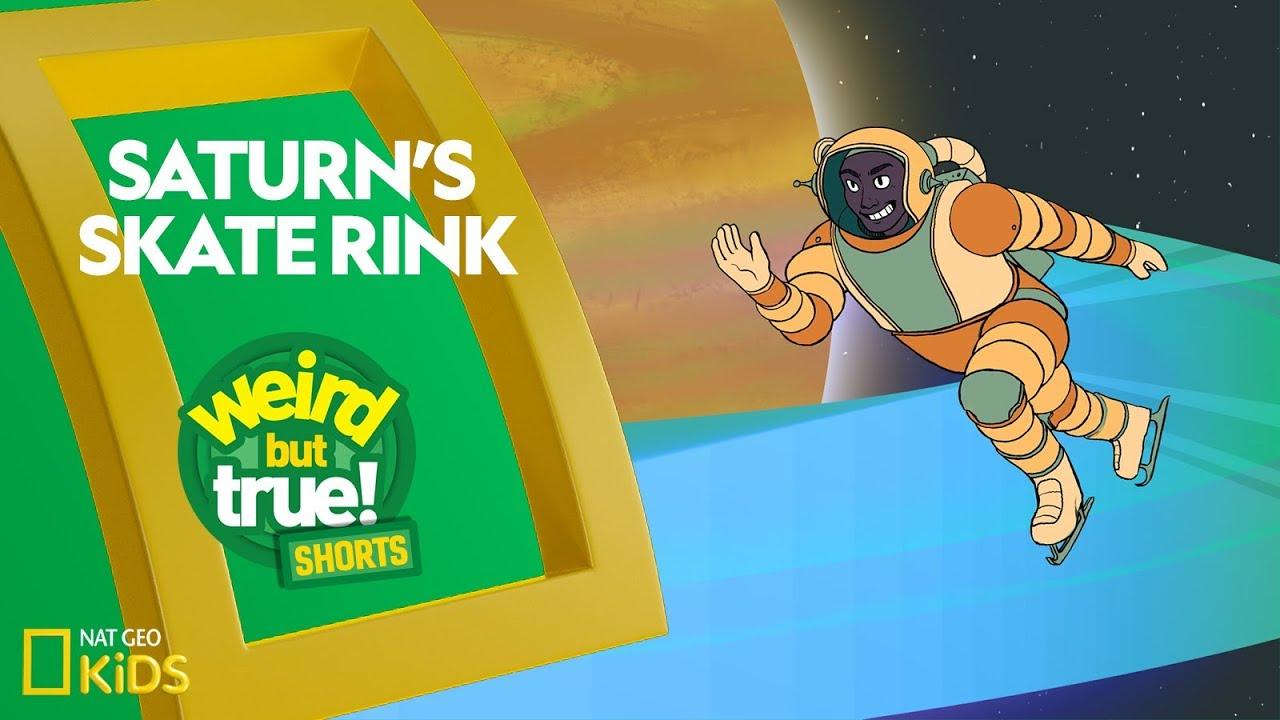 Saturns Skate Rink | Weird But True! Shorts