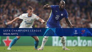UEFA Champions League   Chelsea v Zenit   Highlights