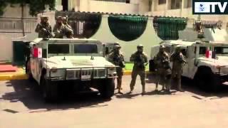 Nuevo camo, uniforme Infantería de marina México.