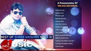 Best Of Shree Krishna Shrestha || Songs Collections Vol II