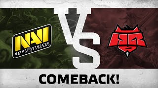 Comeback! by Na`Vi vs HR @ Starladder | i-League EU