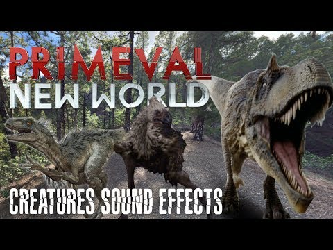 Primeval : New World - Creatures Sound Effects