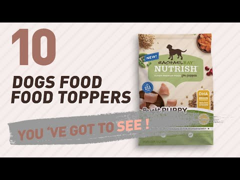Top 10 Dogs Food Food Toppers Products // Pets Lover Channel