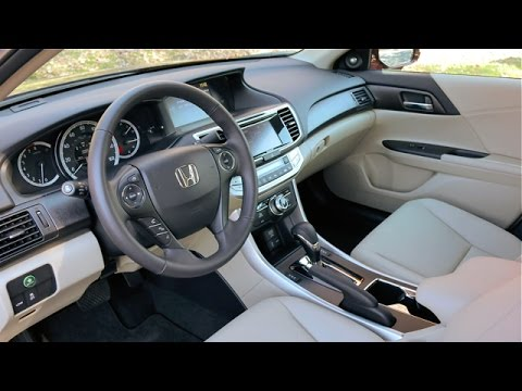2015 honda accord interior review