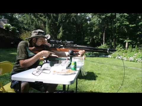 20mm Air Rifle on Helium