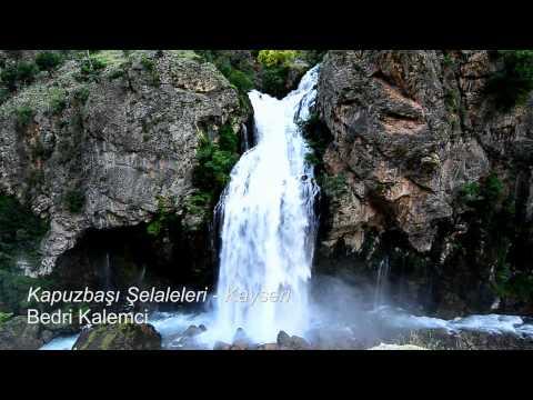 Kapuzbaşı şelaleleri - ELİF şelalesi / Yahyalı - Kayseri