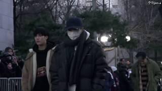 20181207 스트레이키즈 뮤직뱅크 출근길