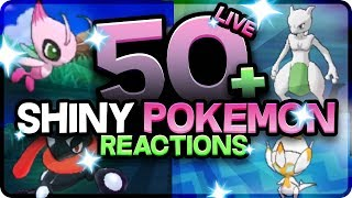 50 BEST SHINY POKEMON REACTIONS! Pokemon Ultra Sun and Moon Shiny Montage! Epic Shiny Reactions!