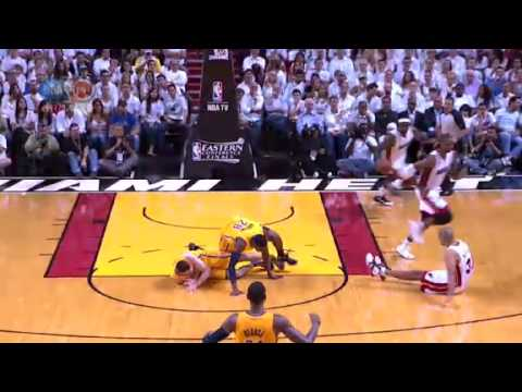 NBA CIRCLE - Indiana Pacers Vs Miami Heat Game 1 Highlights - 22 May 2013 Eastern Final
