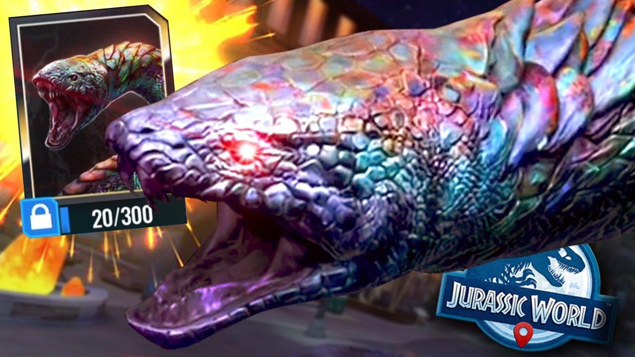 THE NEW GIANT HYDRA SNEK BOSS!!! - Jurassic World Alive