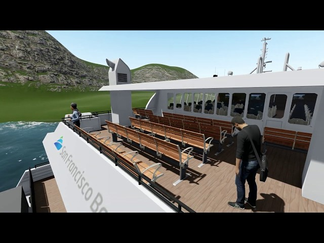 3D Animation of LuxForm Haven, Newport & Hydrus Ferry