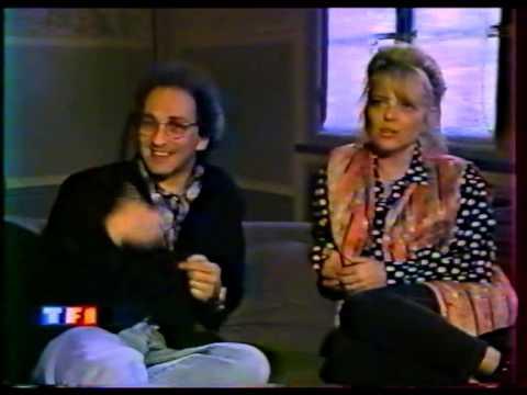 France Gall et Michel Berger - JT de TF1 22 juin 1992 (Sortie de Double Jeu)