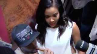 Gabrielle union interviews miami heat guard dwyane wade postgame 7 - 2013 nba win!
