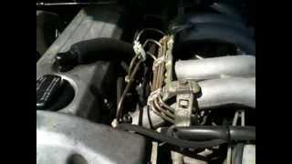 Moteur Mercedes W124 à chaud (normal)