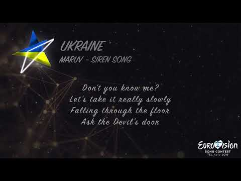 MARUV - Siren Song (Ukraine) Eurovision 2019