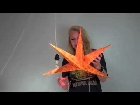 Light Up Like A Shining Star! How To Assemble A Paper Star