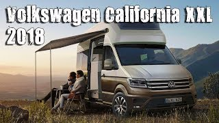 New 2018 volkswagen crafter california xxl concept inspired by the t6 california camper