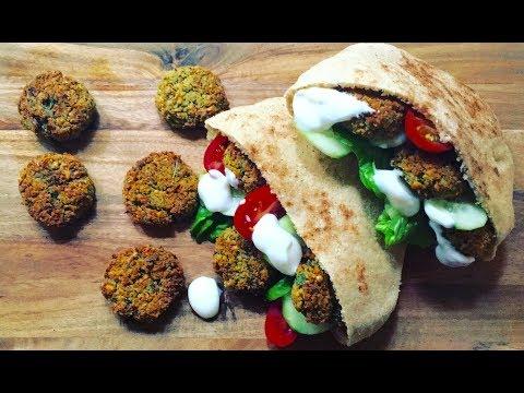 healthy-oven-falafel-recipe-|-recette-falafel-au-four