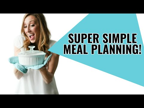Super Simple Meal Planning! (Periscope)