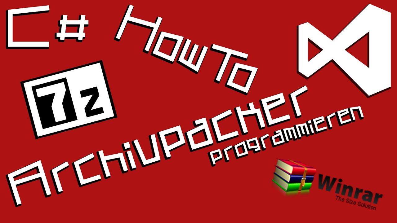 C# 7zip example